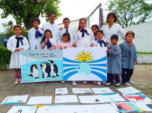 Antarctic Day - Escuela Rural 110, Soriano, URUGUAY